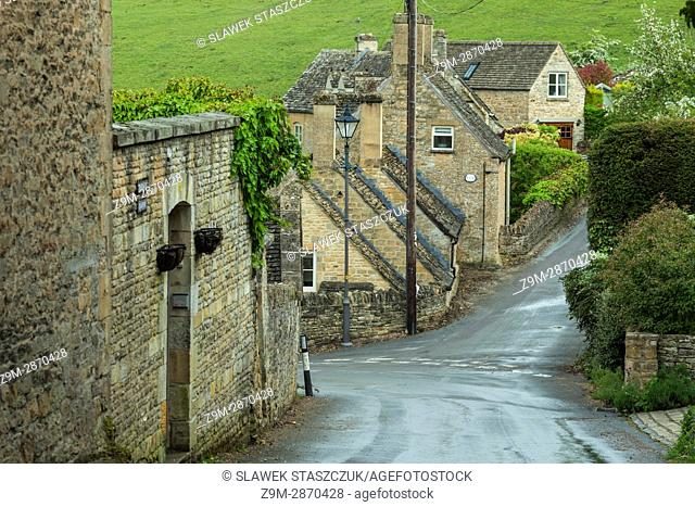 Naunton village in the Cotswolds, Gloucestershire, England