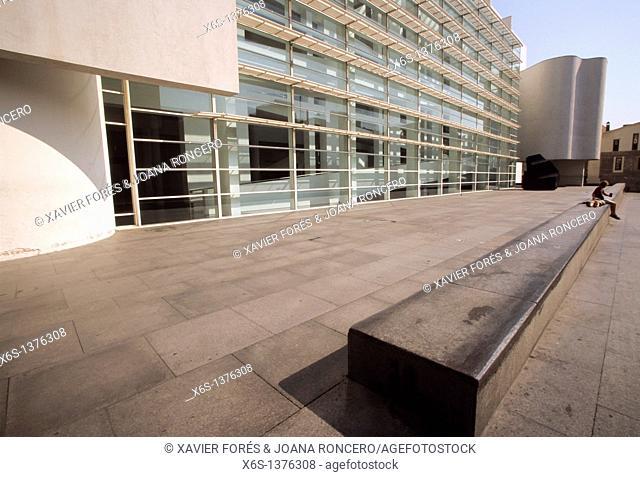 Museum of Contemporary Art -Museu d'Art Contemporani de Barcelona-, Barcelona, Spain