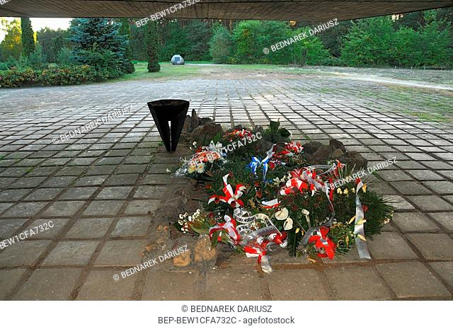 Chelmno extermination camp (Vernichtungslager Kulmhof), the first of the Nazi German extermination camps, Greater Poland Voivodeship