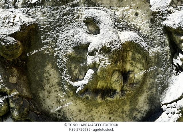 Sarcophagus with Garland & Imperial Eagle (Roman Period). Aphrodisias. Ancient Greece. Asia Minor. Turkey