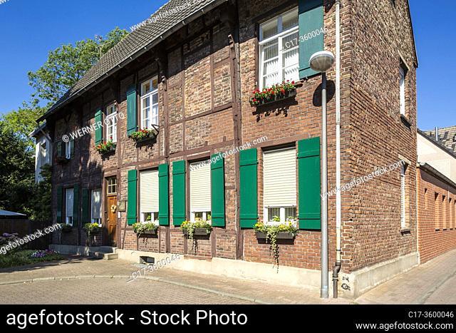 Dorsten, D-Dorsten, Lippe, Ruhr area, Hohe Mark Westmuensterland Nature Park, Muensterland, Westphalia, North Rhine-Westphalia, NRW, Spikerhaus