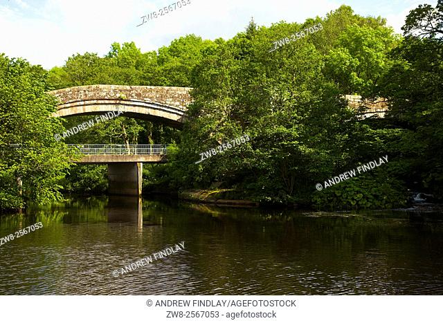 The Old Bridge. Lanercost, Brampton, Cumbria, England, UK