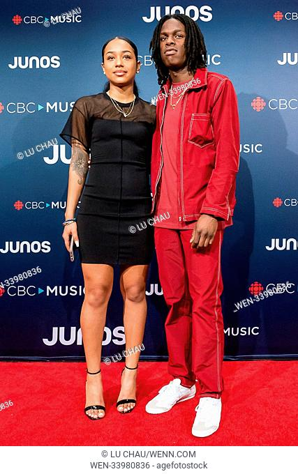 2018 JUNO Awards, held at the Rogers Arena in Vancouver, Canada. Featuring: Daniel Caesar Where: Vancouver, British Columbia