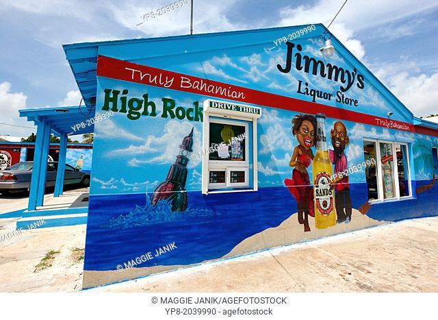 Jimmy's Liquor store (drive through), Nassau, New Providence Island, Bahamas