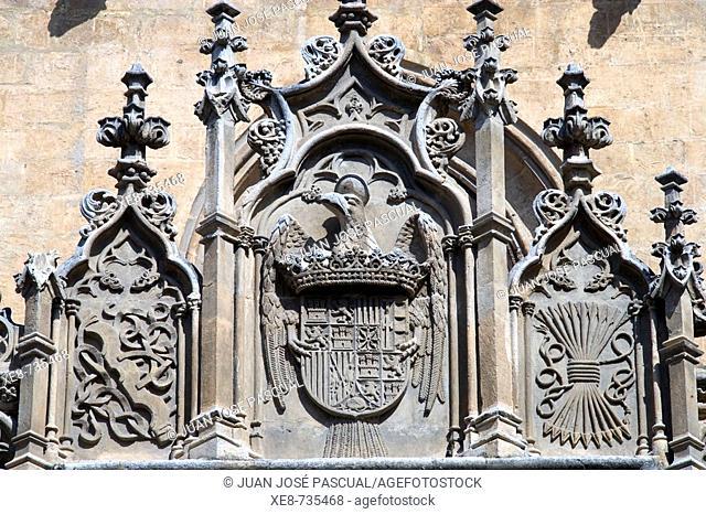 Detail of Royal Chapel, Granada. Andalucia, Spain