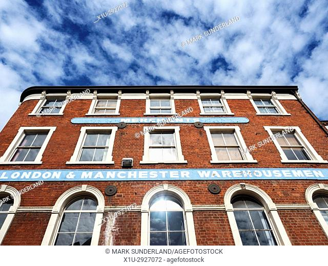 London and Manchester Warehousemen Building in the Old Town Hull Yorkshire England
