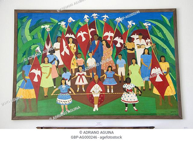 Feast Divine Parati, Djanira da Motta e Silva, Bandeirantes Palace, Morumbi, Capital, São Paulo, Brazil