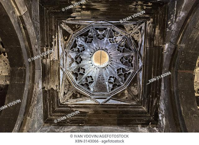Saghmosavank monastery church interior, Kotayk province, Armenia