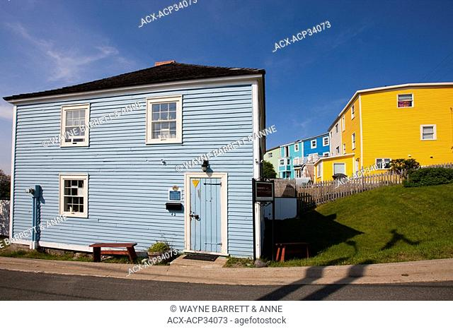 Historic Anderson House in St. John's, Newfoundland and Labrador, Canada