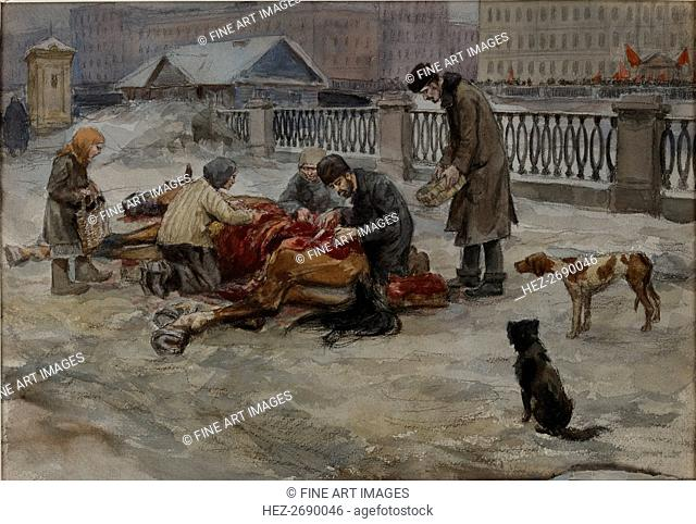 Hungry years in Petrograd, 1919