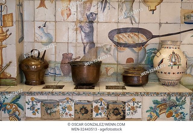 """National Museum of Decorative Arts of Madrid. illustrates the evolution of the so-called """"""""industrial arts"""""""" (furniture, ceramics and glass, textiles, etc"""