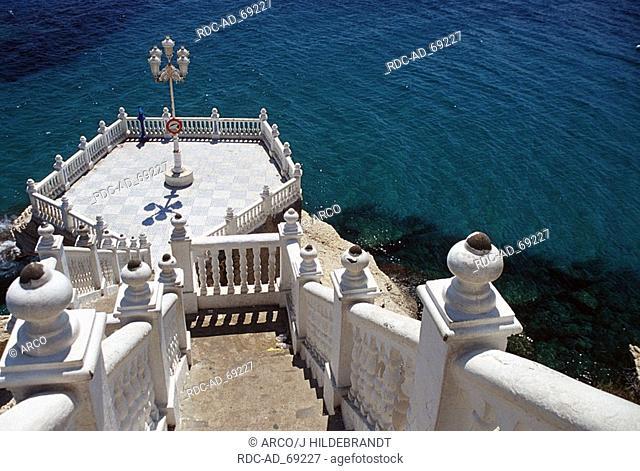 Point of view Balcon del Mediterraneo Benidorm Costa Blanca Spain