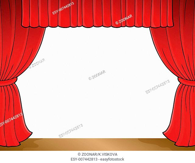 Stage theme image 1 - picture illustration