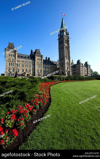 Peace Tower, Parliament Buildings, Parliament Hill, Ottawa, Ontario, Canada