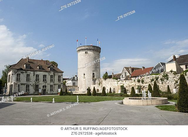 Archives Tower (Tour des Archives). Vernon, town on the banks of the Seine River, Eure Department, Normandy, France, Europe