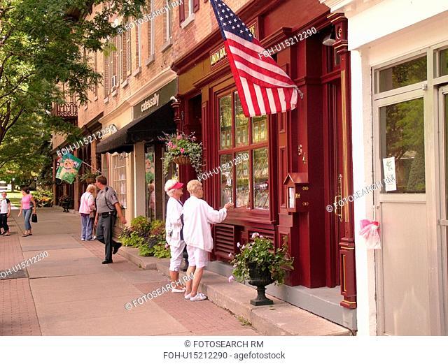 Skaneateles, NY, New York, Finger Lakes Region, downtown