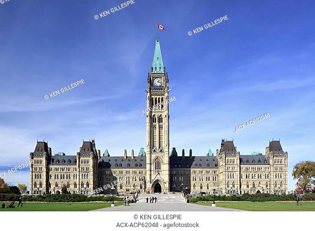 Canadian Parliament Buildings, Parliament Hill, Ottawa, Ontario, Canada