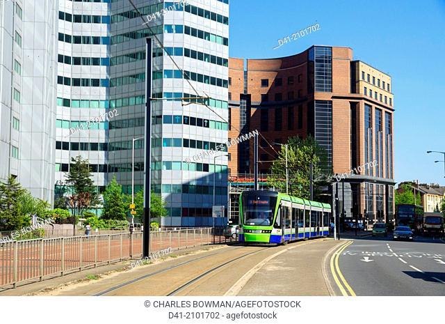 UK, England, London, Croydon A212 tram