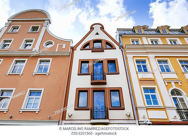Tirgonu street. Old Town of Riga, Latvia, Baltic states, Europe