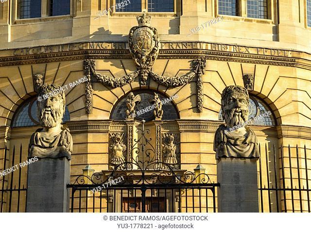 Sheldonian Theatre, University of Oxford, England, UK