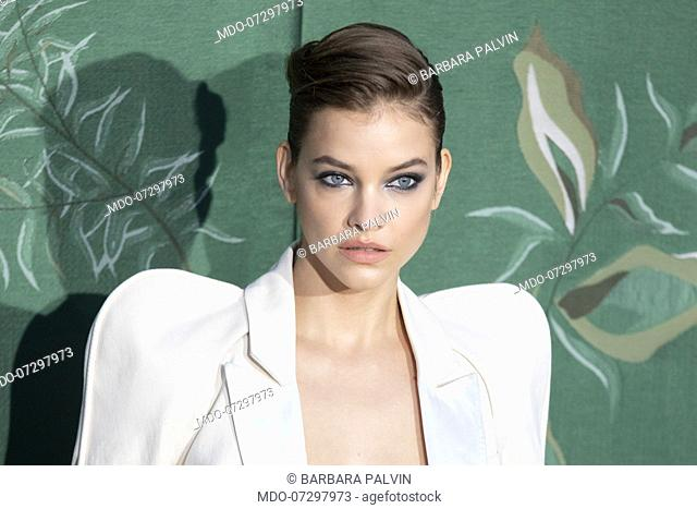 Hungarian supermodel Barbara Palvin on the Red carpet of the Green carpet Fashion Awards event at the Teatro alla Scala. Milan (Italy), September 22nd, 2019