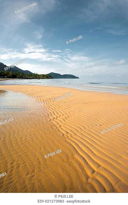 Deserted Tropical Beach Koh Chang V