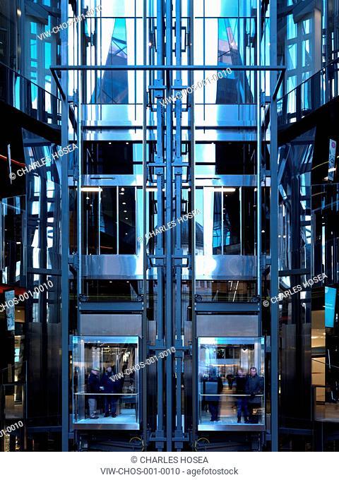 One New Change, Jean Nouvel, London, 2010, LONDON, UNITED KINGDOM, Architect
