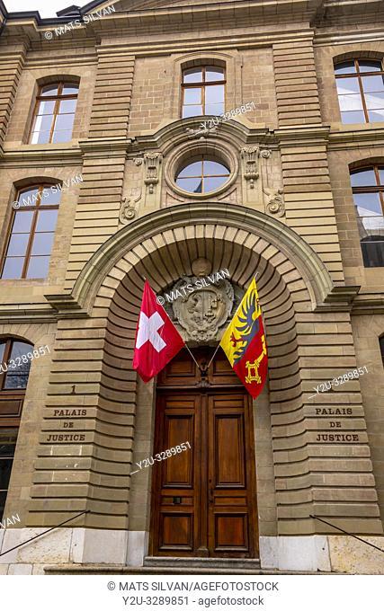 Courthouse in Geneva, Switzerland