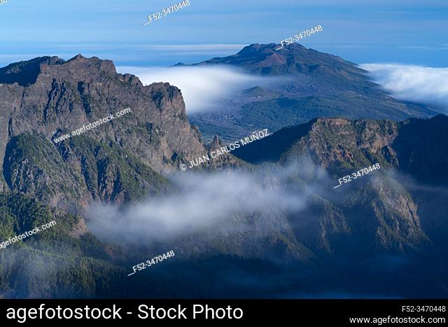 Caldera de Taburiente National Park, La Palma island, Canary Islands, Spain, Europe, Unesco Biosphere Reserve