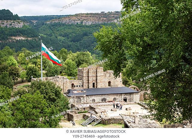 The Palace of Tsarevets, Tsarevets Fortress, Veliko Tarnovo, Bulgaria