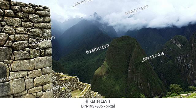the historic inca site machu picchu, peru