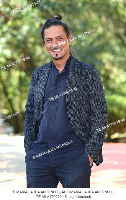The director Simone Catania during the photocall of film ' Drive me home ' Rome, ITALY-17-09-2019