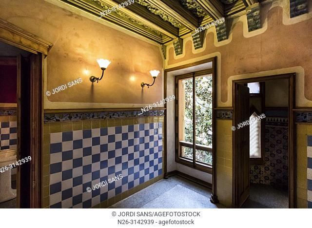 Casa Vicens, 1885, by Antoni Gaudí. Barcelona