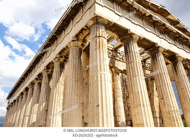 Temple of Hephaestus, Ancient Agora of Athens, Athens, Greece