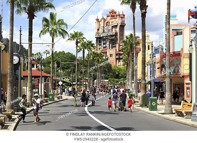 Holywood Tower Hotel,Walt Disney World Resort, theme park, Orlando, Florida, USA
