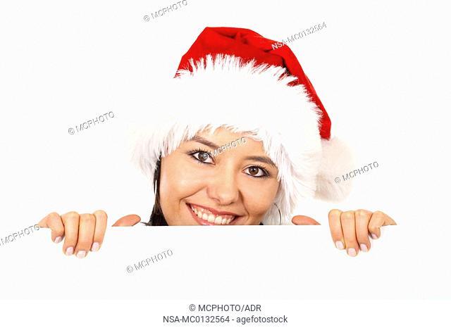 christmas santa billboard