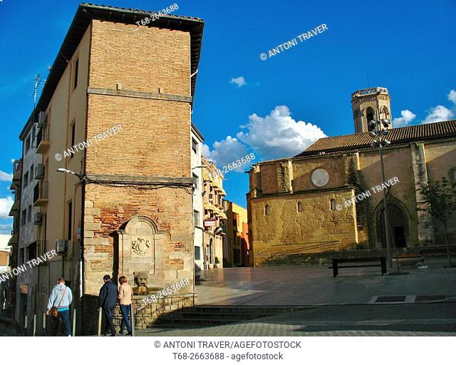 Old Town, Lleida, Catalonia, Spain