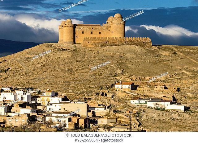 Spain, Andalusia, Granada province, La Calahorra, La Calahorra Castle