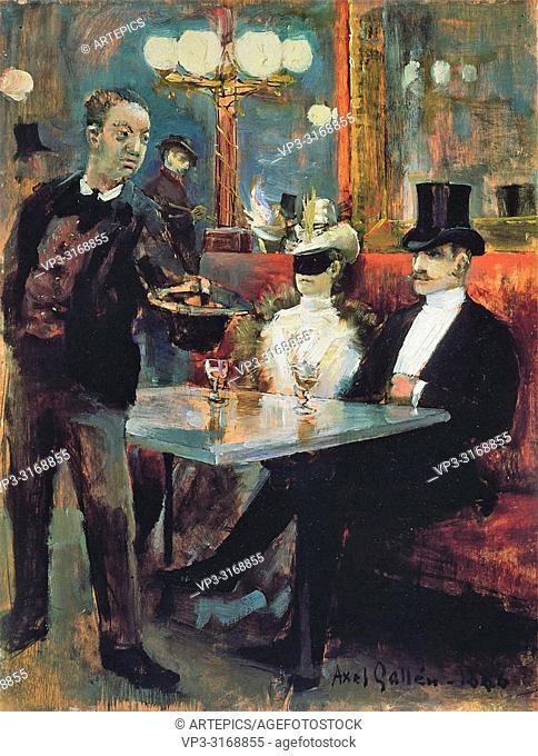 Gallen-Kallela Akseli - Parisian Café