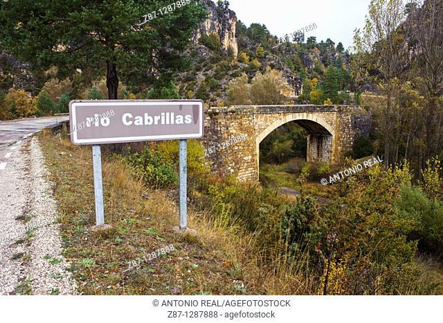 Río Cabrillas  Peralejos de las Truchas  Parque Natural del Alto Tajo  Guadalajara