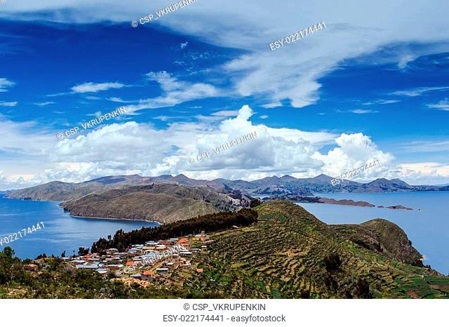 Isla Del Sol. Island of the Sun. Bolivia