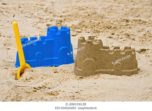 Blaue Sandburg