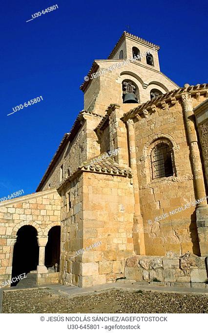 Nuestra Señora del Rivero church. San Esteban de Gormaz. Soria, Castilla y León. Spain