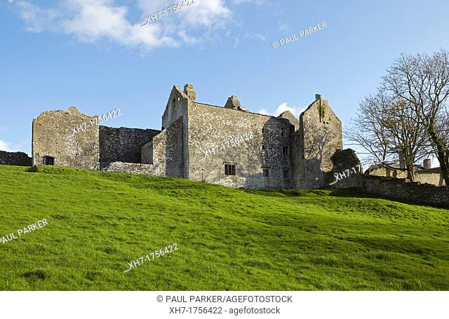 Old Beaupre Castle, Vale of Glamorgan, Wales, UK