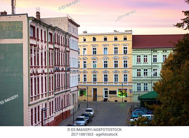 Frankfurt Oder's Historic Altberesinchen District, Brandenburg, Germany