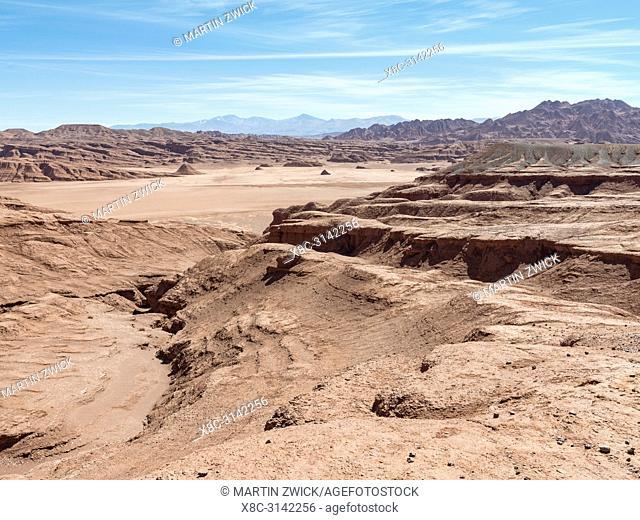 Desierto del Diablo. The Argentinian Altiplano along the Routa 27 between Pocitos and Tolar Grande. South America, Argentina