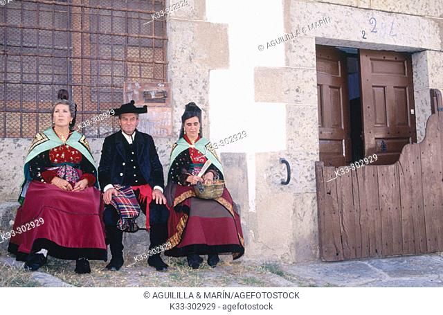 Traditional wedding. Candelario. Salamanca province. Castilla-Leon. Spain