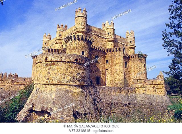 Castle. Guadamur, Toledo province, Castilla La Mancha, Spain