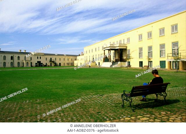 The courtyard at the Castle of Good Hope, Cape Town, Western Cape, South Africa