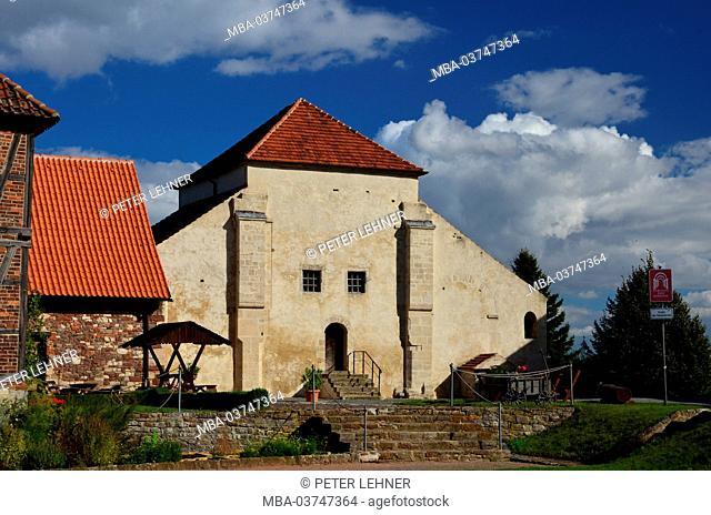 Germany, Saxony-Anhalt, East Harz, Ermsleben, abbey church